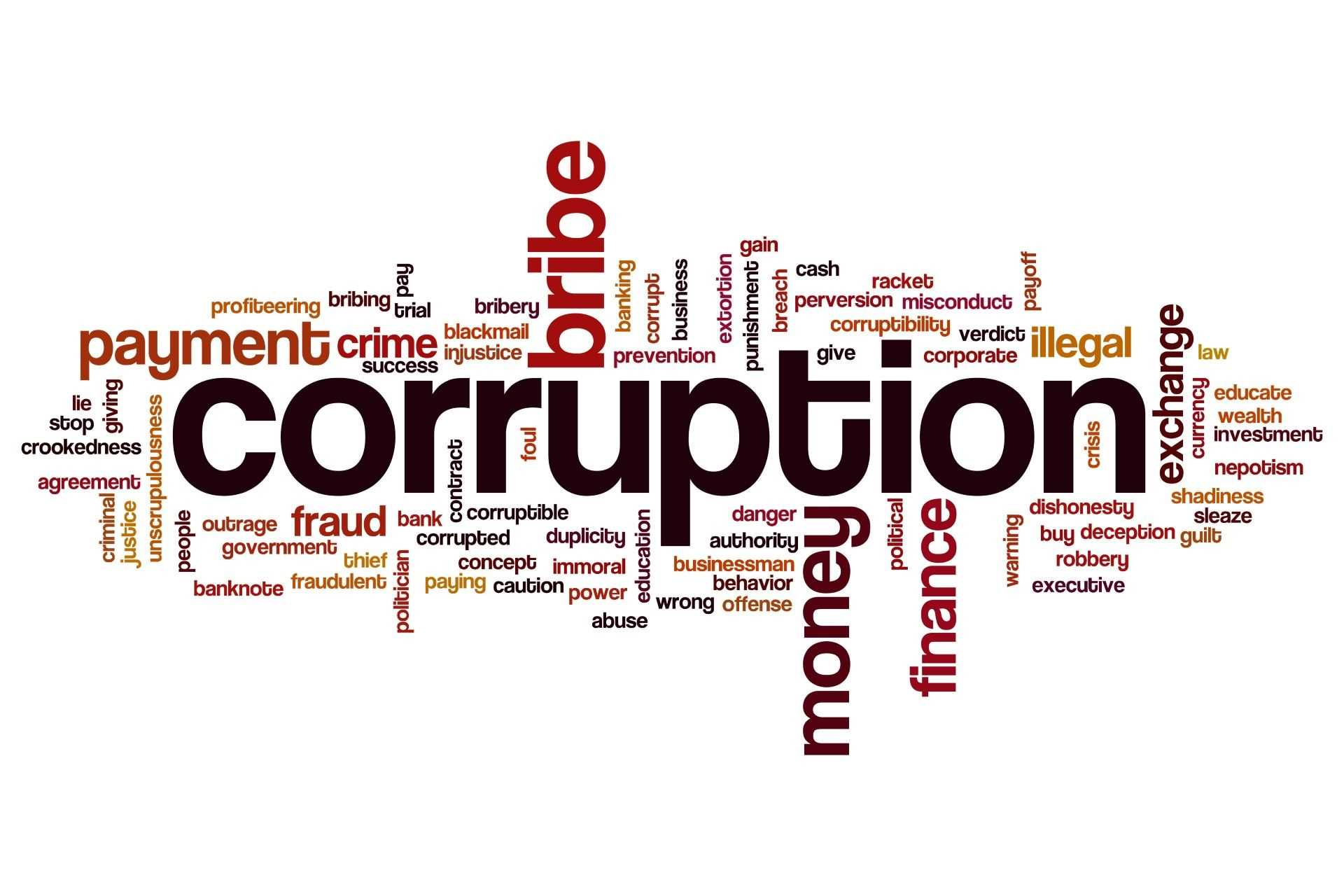 the problem of corruption in our society Money and corruption have seeped so far into our media system that people can with a straight face assert that scientists aren't sure human carbon emissions are causing global warming fox cable news is among the more corrupt institutions in american society, purveying outright lies for the benefit of the billionaire class.